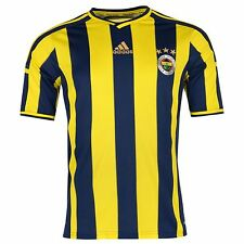 Adidas Fenerbahce SK Home Jersey 2014 2015 Mens Blue/Yellow Football Soccer Club