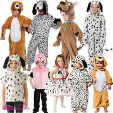 KIDS DOG PUPPY ANIMAL DALMATION DALMATIAN TODDLER BOYS GIRLS FANCY DRESS COSTUME