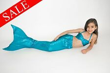 SALE! Turquoise Mermaid Tail Fin by Fairy Tail Mermaids ~ MONOFIN INCLUDED ~ Fun
