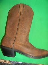 Mens Justin #JB 1100 Crazy cow  12 inch boots Color Brown  Bx 52
