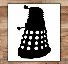 Doctor Who Car Decal Dalek Decal Doctor Who Laptop Decal Dr Who Time Lord Scifi