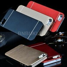 Ultra Thin Metal Aluminum Brushed Hard Back Case Cover Skin For Apple iPhones