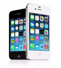 Apple iPhone 4- 8 16 32GB GSM/CDMA All Carriers Smartphone Black/ White with Box