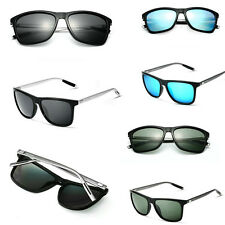 1pc Aluminium Polarized Sunglasses Fashion Retro Driving Mirrored Eyewear Shades