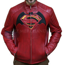 Batman vs Superman Dawn of Justice Genuine Leather Cosplays Jacket