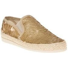 New Womens SOLE Metallic Zella Synthetic Shoes Espadrilles Slip On