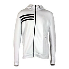Adidas Performance Climalite Cotton Full Zip Mens Hooded Jacket