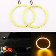 High Power 80mm Amber RDL LED COB Angel eye Fog Lamp Halo Ring Driving Light