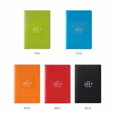 2017 Weekly Month Planner A5 PU Notebook Schedule Diary Calendar Note Book #B99