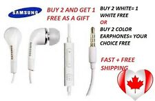 3.5mm In-Ear Earphones Earbuds Headphone Handsfree With Mic For SAMSUNG S3 S4 S5