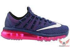 Nike Womens Air Max 2016 Running Shoes Purple/White/Pink 806772-502 All Sizes
