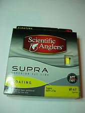 SCIENTIFIC ANGLER SUPRA FLOATING Fly Fishing Line (SUNRISE) VARIOUS WEIGHTS