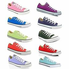 Converse All Star Chuck Taylor Hi Top Unisex Low Tops Canvas Shoes Free Shipping