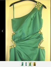 Jane norman cut Out One Shoulder Jewel Maxi Dress, UK 12  Lipsy WOW! worn once