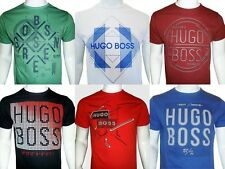 HUGO BOSS Men's Green Label Crew Neck 100% Cotton Short Sleeve S M L XL T Shirt
