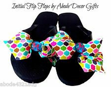 Multi-colored INITIAL Flip Flops