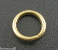 Gift Wholesale Bronze Tone Open Jump Rings 8x1.2mm
