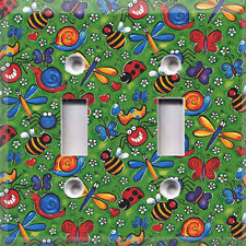 Fun Bugs ~ Light Switch Cover~Home/Room~Kids Decor~ Choose Your Plate~