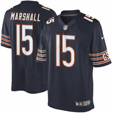 Nike Authentic Stitched Chicago Bears Brandon Marshall Jersey 468916-464 Mens
