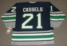 ANDREW CASSELS Hartford Whalers 1995 CCM Vintage Throwback NHL Hockey Jersey
