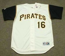 AL OLIVER Pittsburgh Pirates 1969 Majestic Throwback Home Baseball Jersey