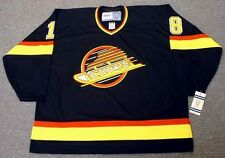 IGOR LARIONOV Vancouver Canucks 1991 CCM Vintage Throwback NHL Hockey Jersey