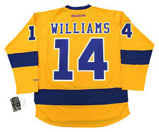 JUSTIN WILLIAMS Los Angeles Kings Reebok 1967 Gold NHL Hockey Jersey