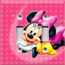 Minnie Mouse ~Light Switch Cover~ Home Decor~Kids Room Decor~Choose Your Plate~