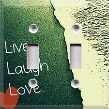 Live Laugh Love ~ Light Switch Cover ~ Home Decor