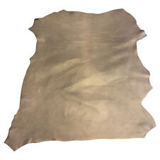Gold Brown Lambskin Authentic Genuine Leather Hides with Pearlescent Finish FS89