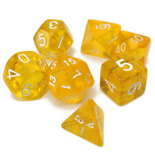 7-Dice Sided D4 D6 D8 D10 D12 D20 MTG RPG Poly Game Set Number Funny Collection