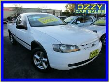 2004 Ford Falcon BA RTV White Automatic 4sp A Utility