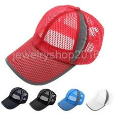 Fashion Sunvisor Unisex Breathable Mesh Hat Outdoor Sports Casual Baseball Cap