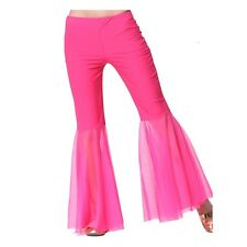 New Sexy Belly Dance Gauze Pants Dancing Tribal Costume Chiffon bell-bottoms