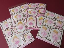 Craftstyle Sweet Dreams Die-cut 1 A4 Topper & 2 Backing Card Sets