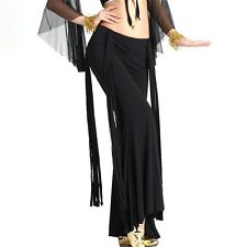 Mini Belly Dance Latin Yoga Sripe Tassels Pants Dancing Tribal Crystal Cotton