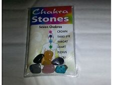 Chakra Stone Set, to help you balance the 7 main energy centers in the body