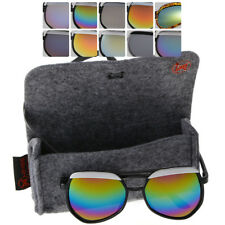 Unisex Retro Aviator Style Summer Fashion Mirrored & Normal Sunglasses FREE CASE