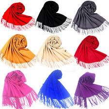 New Lady 100% Cotton Solid Color Scarf long soft cotton Scarf Wrap Shawl Scarves