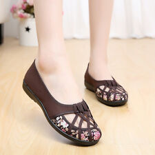 Women Summer Convas Shoes Floral Cross Strap Fabric Flats Casual Slip-on Loafers