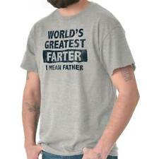 Worlds Greatest Farter Father's Day Funny Humorous T Shirt T-Shirt Tee