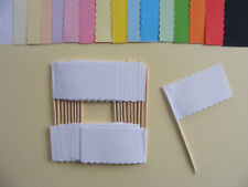 Sandwich Flags, Food, Party Wedding Buffet, Catering Labels Picks Cocktail Stick