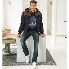 Redskins Mens Silver Hooded Blouson Jacket With Stand-Up Collar