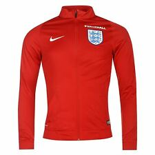 Nike England Track Jacket Mens Red/Royal Football Soccer Top