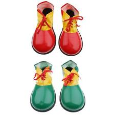 Clown Adult Kids Shoes Covers Party Fancy Dress Fun Circus Costume Kit Accessory