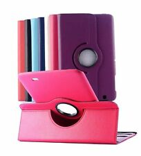 Flip Leather 360°Rotating Wake/Sleep Stand Case Cover For LG G Tablet 8.3 V500