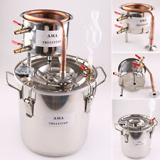 2-8 Gal Copper Moonshine Ethanol Still Alcohol Distiller Spirits Boiler New