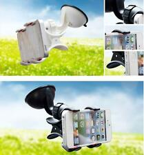 360º Rotating Bed Desktop Car Stand Mount Holder For iPhone Cell Phone GPS / a01