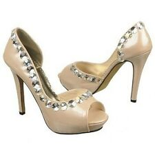Johnathan Kayne Galactica Rhinestone Bridal Prom Pageant High Heel Pump Shoe