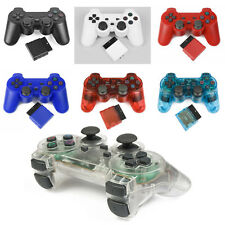 Wireless 2.4GHz Vibration Shock Game Controller for Sony PS2 A024